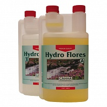 CANNA Hydro Flores A+B 1л (hard water)